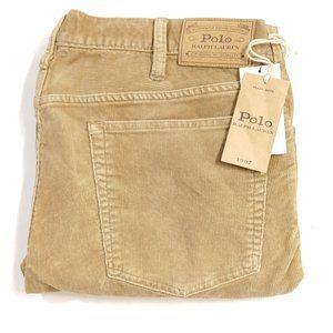 Polo Ralph Lauren Varick Slim Corduroy Pants 36 x